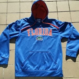 Florida Gators Pull Over Hoodie Size Medium